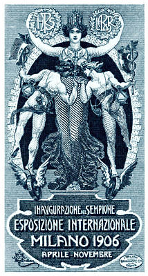 1906 Milan International Expo Poster by Historic Image