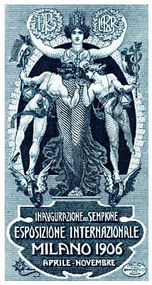 1906 Milan International Expo Poster