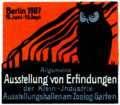 1907 Berlin Exposition Poster Poster by Historic Image