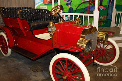 1908 Ford Model T Touring 5d25560 Poster by Wingsdomain Art and Photography