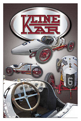 Poster featuring the photograph 1910 Kline Kar by Ed Dooley