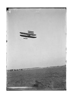 1910 Wright Brothers Flying School Poster by MMG Archives