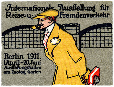 1911 Berlin International Travel Expo Poster by Historic Image