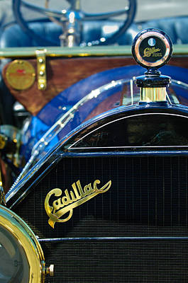 1911 Cadillac Roadster Poster by Jill Reger