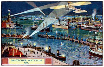 1911 German Air Race Poster