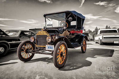 1916 Ford Model T Poster