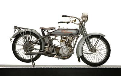 1916 Harley Davidson Model 16 5-35 Poster