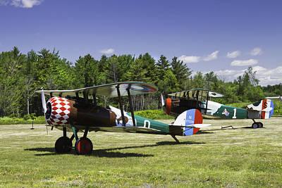 1917 Nieuport 28c.1 Fighter World War One Photo Poster