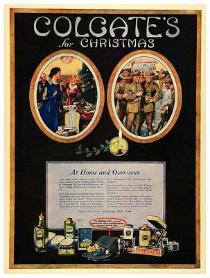 1918 - Colgate Advertisement - World War I - Color Poster by John Madison