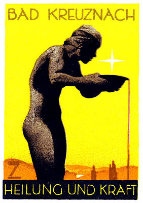 1920 Bad Kreuznach Germany Poster by Historic Image