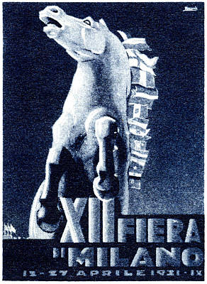 1921 Italian Film Festival Poster by Historic Image