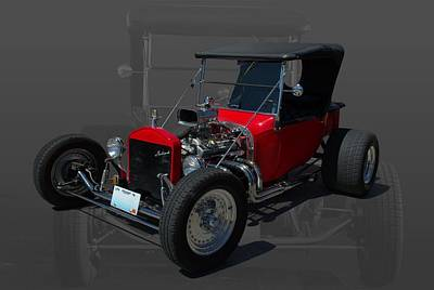 1922 Ford Bucket T Hot Rod Poster by Tim McCullough