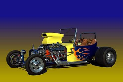 1923 Ford Bucket T Poster