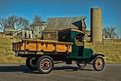 1923 Ford Model Tt One Ton Truck Poster