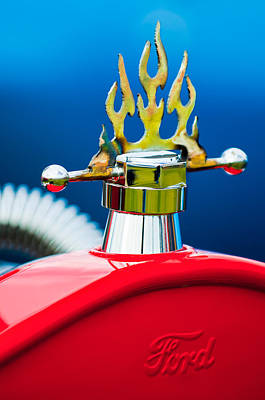 1923 Ford T-bucket Aftermarket Hood Ornament Poster