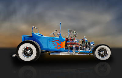 1923 Ford T-bucket Roadster Poster by Frank J Benz