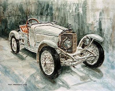 1923 Mercedes Ps Sport- Zweisitzer Poster