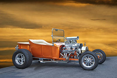 1923 Model T Roadster  Poster by Dave Koontz