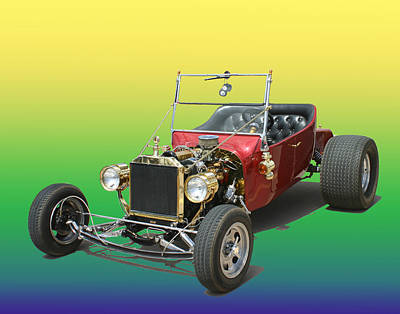 1923  Ford T Bucket  Poster