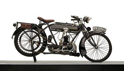 1925 New Hudson 247cc Lightweight Poster