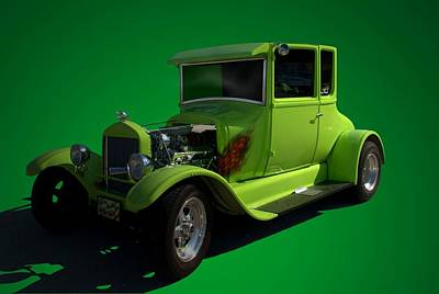 1926 Ford Model T  Hot Rod Poster by Tim McCullough