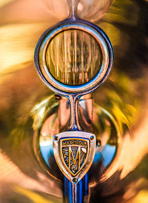 1926 Hispano-suiza H6b Torpedo Headlight Poster by Jill Reger