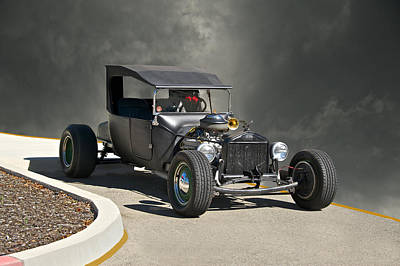 1927 Ford Model T Roadster Poster by Dave Koontz