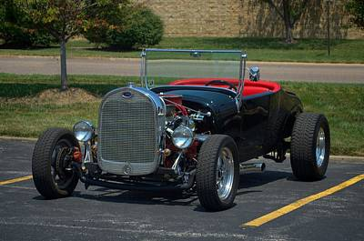 1927 Ford Roadster Hot Rod Poster by Tim McCullough