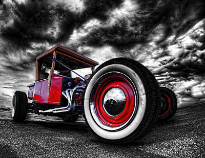 1927 Ford T Bucket Poster