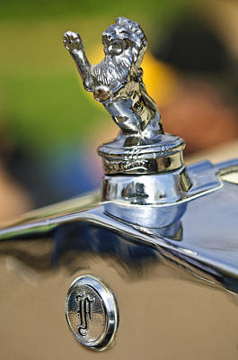 1927 Franklin Sedan Hood Ornament Poster by Jill Reger