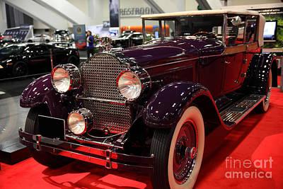 1927 Packard 8 Model 343 Convertible Sedan 5d26582 Poster