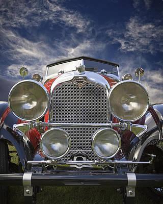 1928 Auburn Model 8-88 Speedster Poster