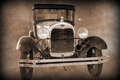 1928 Ford Model A Coupe Poster