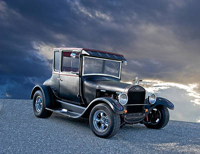 1928 Ford 'tall T' Coupe Poster by Dave Koontz