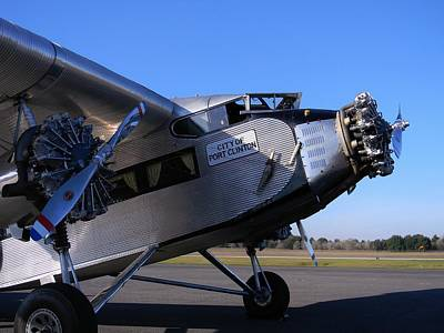1928 Ford Tri-motor Poster