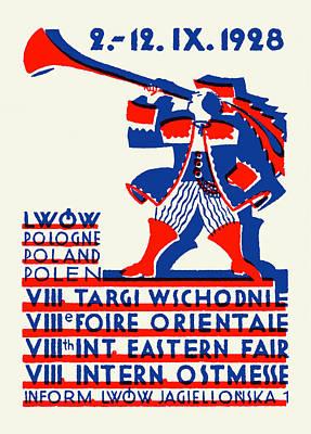 1928 Lwow Eastern International Fair Poster