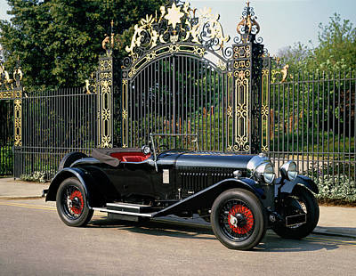 1929 Bentley 4.5 Litre Drophead Coupe Poster