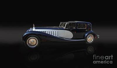 1929 Bugatti Type 41 Royale Poster by Roger Lighterness