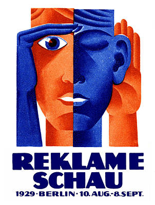 1929 German Advertising Exposition Poster by Historic Image