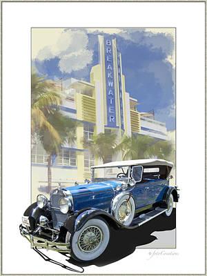 1929 Hudson Dual-cowl Phaeton Poster