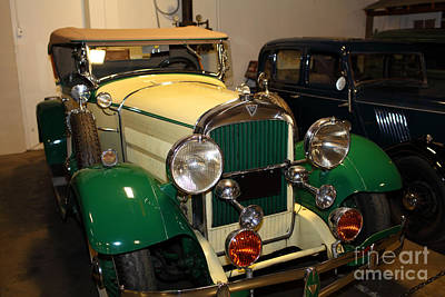 1929 Hudson Super Six Roadster 5d25594 Poster by Wingsdomain Art and Photography
