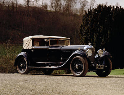 1930 Bentley 6.5 Litre Speed Six Poster
