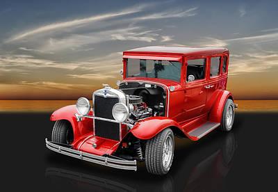 1930 Chevrolet 4-door Sedan Poster