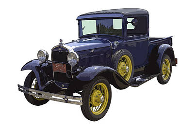 1930 - Model A Ford - Pickup Truck Poster