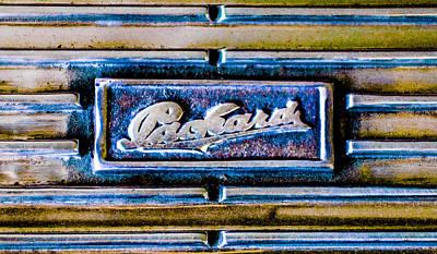 1930 Packard Deluxe Eight 745 Dual Cowl Sport Phaeton Emblem Poster by Jill Reger