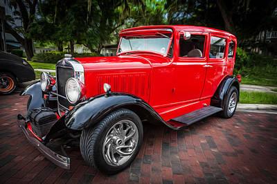 1930 Studebaker Sedan Painted   Poster
