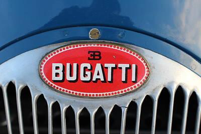 1930's Ettore Bugatti Poster by Robert Phelan