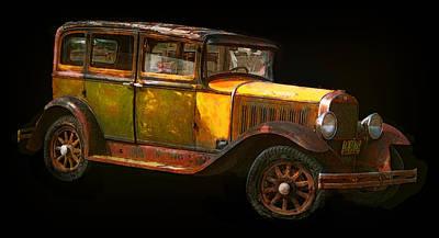 1930s Studebaker Sedan Poster