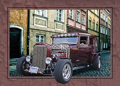 1931 Chev Poster by Richard Farrington