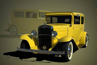 1931 Chevrolet Sedan Hot Rod Poster by Tim McCullough